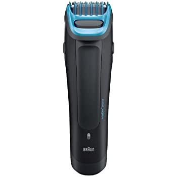 Braun Beard and Head Trimmer with Ultra-Sharp Stainless Steel Trimming  Element with 6 Adjustable Beard Comb Lengths 9a387b820f713