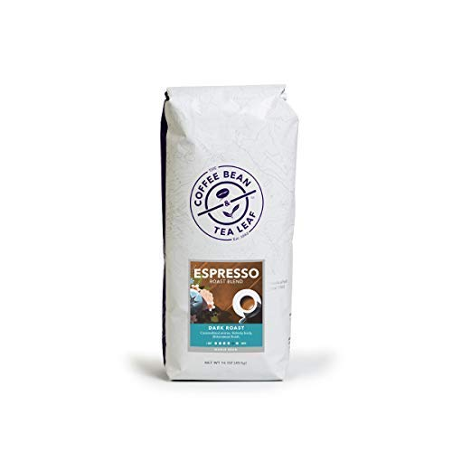 Coffee Bean & Tea Leaf Espresso Roast Dark Blend - Whole Bean - 1-Pound Bag ()