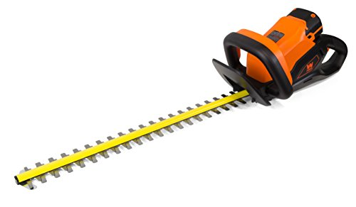 WEN 40415 40-Volt Max Lithium-Ion 24 in. Cordless Hedge Trimmer with 2Ah Battery and Charger by WEN