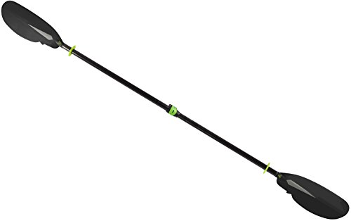 Seattle Sports 060295 SeaWhisper Carbon Kayak Paddle, 230/240cm, Black