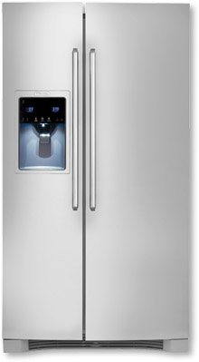 Electrolux EW26SS85KSWave-Touch 25.93 Cu. Ft. Stainless Steel Side-By-Side Refrigerator - Energy Star