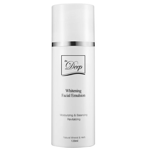 Dr.Deep Brightening Facial Emulsion, Hydrating Daily Lotion, whitening & Moisturizing.