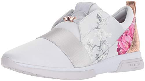 Ted Baker Women's Cepa Sneaker, BABYON Grey Textile, 9 Medium US