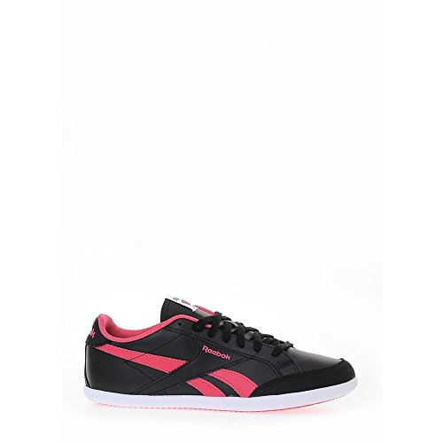 Reebok - Royal Transport - M48503 - Color: Blanco-Negro-Rosa - Size: 38.5