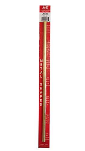 K & S PRECISION METALS 8133 5/16 x 12 Round Brass Tube (Round Brass Tube)