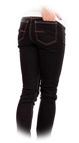 Maternità Wash Pantaloni Jeans Nittis 32l Dritto Donna Stephanie Dark amp; Black Di Umstandsmode Gravidanza Nitis 36l wZqS14xIfc