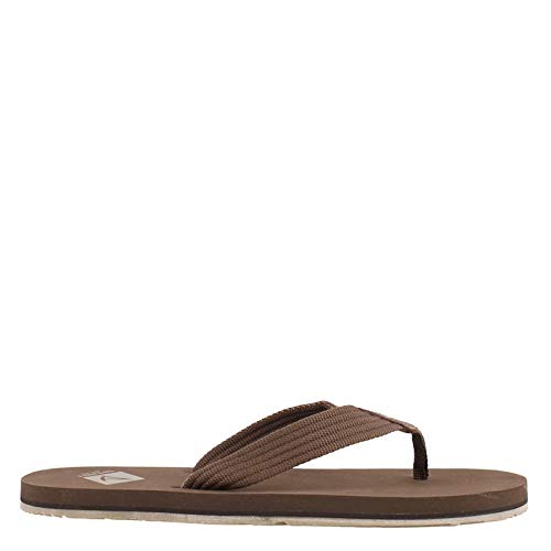(SPERRY Men's, Topsail Thong Sandal Brown 10 M)