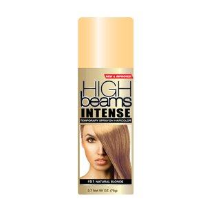 High Beams Intense Temporary Spray-On Hair Color - Natural Blonde 2.7 oz (6 PACK) by High Beams