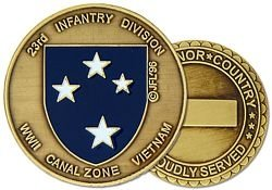 - U.S. Army 23rd Infantry Division Challenge Coin