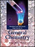 Standard and Microscale Experiments in General Chemistry, Bishop, Veronica, 0030074290