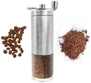 Moedor de Café Manual em Inox e Cerâmica Portátil Moe Grãos