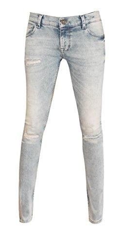 W7098 Zhrill Blue Femme Taille Unique Jeans wqxvHq7