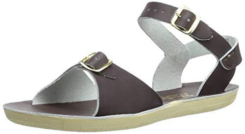 - Hoy Girls Sun San Surfer Sandal Shoes Brown 3