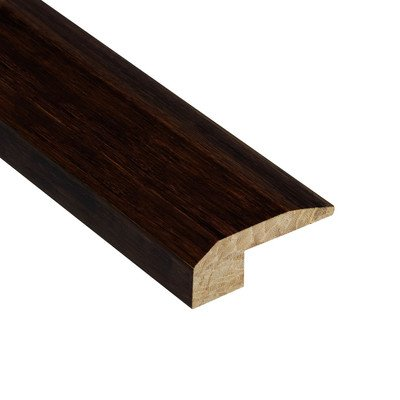 """Renew and Restore 0.5"""" x 2.13"""" Bamboo Carpet Reducer Molding in Walnut"""