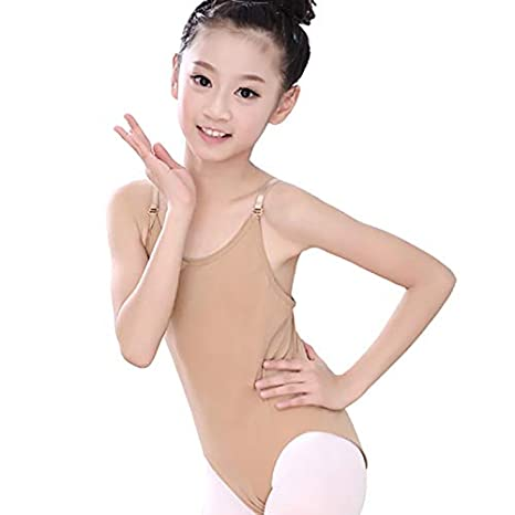 753a05308565 Amazon.com: Mink Monk Sexy Seamless Camisole Gymnastics Leotards ...