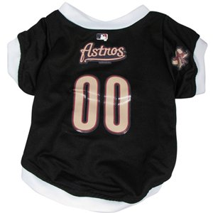 Hunter Mfg DN-3095881-M Houston Astros Dog Jersey - Medium by Hunter
