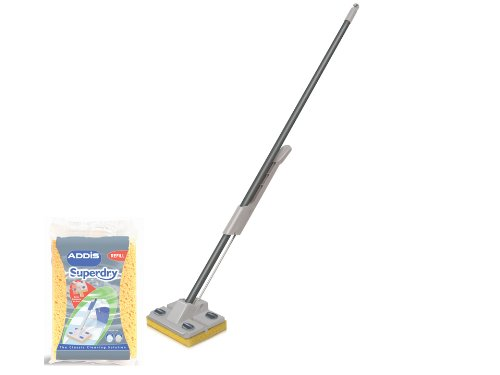 Superdry Mop + Extra Refill Graphite or Metallic