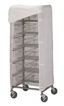 R & B Wire 1050 Cover for 1006 Resident Item Cart - Resident Item Cart