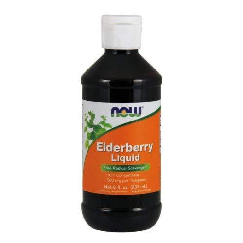 Elderberry Liquid, 8 oz by Now Foods (Pack of 6)