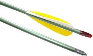 CSI 30-inch Archery Arrows - One Dozen Port Orford Cedar Wood Arrows
