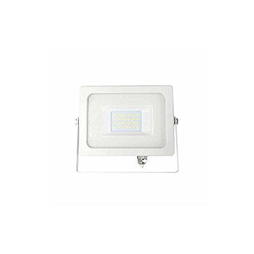30 opinioni per Faro LED SLIM Bianco 20W 3000K 100° 1600LM IP65 SMD- V-Tac