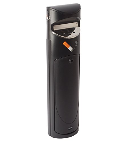 ashguard SG Free Standing receptáculo de ceniza de cigarrillos al aire última intervensión–negro–3l...