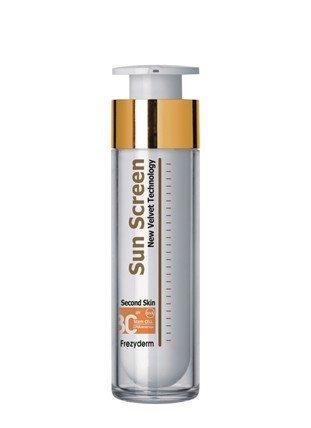 Velvet Face - FREZYDERM HIGH PROTECTION SUN SCREEN VELVET FACE SPF 30 50ml by FrezyDerm