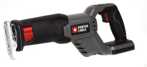 PORTER CABLE Bare-Tool PCL180RS 18-Volt Cordless Reciprocating Saw (Tool Only, No Battery