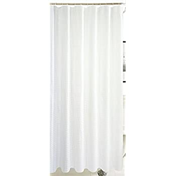 Amazon.com: Dainty Home Hotel Collection Waffle Shower Curtain, 72 ...