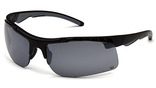 Pyramex Safety VGSB8310ST Drone Tactical Safety Glasses with Military/Police Gray Anti Fog - Sunglasses Drone