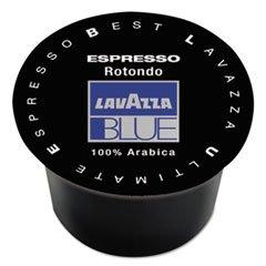 Lavazza BLUE Espresso Capsules, Rotondo-Dark Roast, 9 g, 100/Box