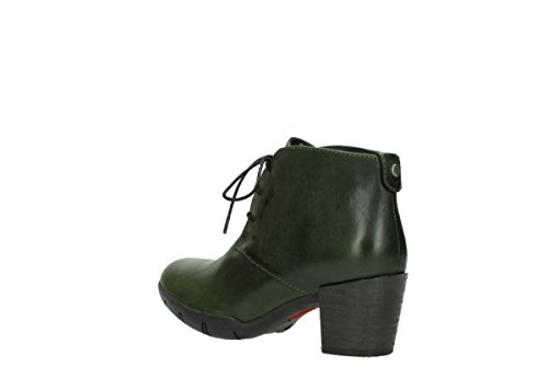 30732 up Shoes Comfort Lace Leather Bighorn Wolky Forest green qg4HBwa