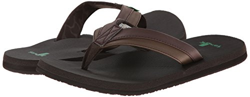 Light Beer Brown Cozy Sanuk Zehentrenner qWO5tZnP