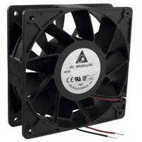 Delta PFB1212GHE DC Fans 120x120x38mm 12V DC Fan, 217.8 CFM, 4800 RPM, 64 dBA, BB, Brushless