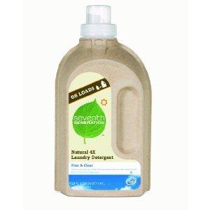 Seventh Generation Liquid Laundry Detergent, Free & Clear, 1