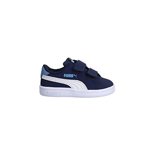 Puma Zapatilla 365184-02 Smash V2 Buck Azul