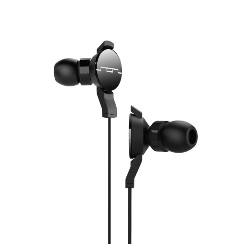 SOL REPUBLIC 1102-61 AMPS In-Ear Headphones - Free Ear Tips for Life - Black