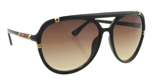 fae4850e044f Amazon.com: Michael by Michael Kors Sunglasses MMK 2836S BLACK 001 Jemma:  Michael by Michael Kors: Clothing