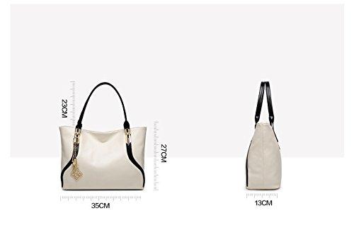 À Bandoulière De D'Air Dames Noir Sac De Élégant À GWQGZ Nouveau White Mode Sac Main wRHvHZxz