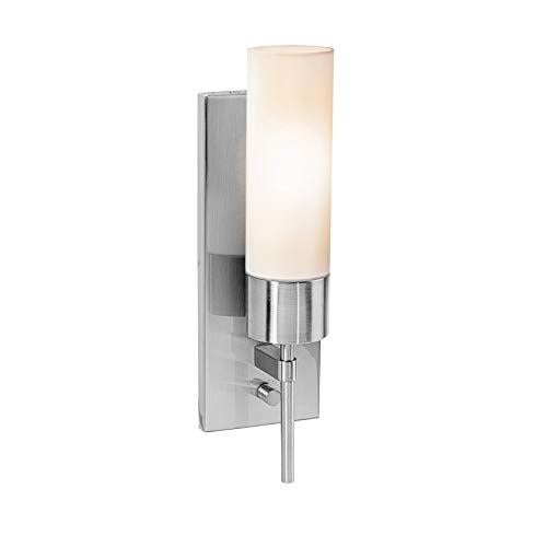 - Access Lighting 50562-BS/OPL Aqueous Wall Sconce Fixture, Brushed