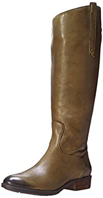Sam Edelman Women's Penny 2 Wide Shaft Riding Boot, Olive, 10 M US