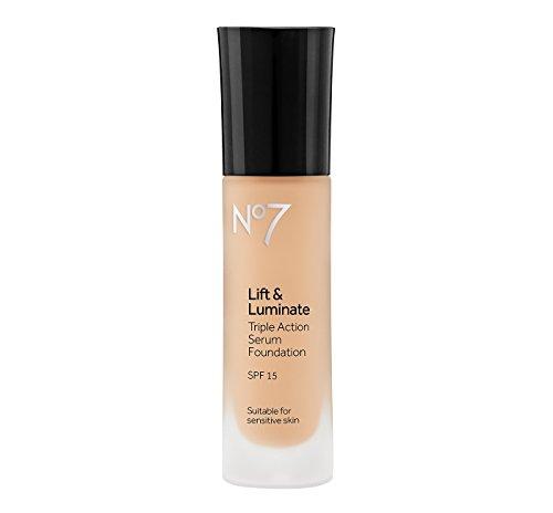 Boots No7 Lift & Luminate Foundation SPF 15 Deeply Honey - 1oz Deeply Honey (No 7 Lift And Luminate Foundation Honey)