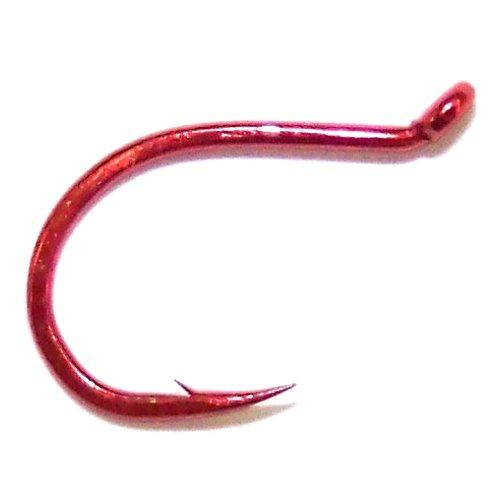 - Daiichi Salmon Egg Hooks Color: Red (D06Z); Size: 12