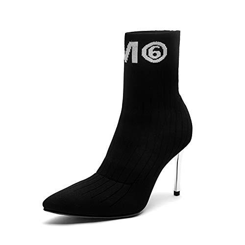 Mnh03613 1to9 Con Sandalias Cuña Negro Mujer rrxHwvq
