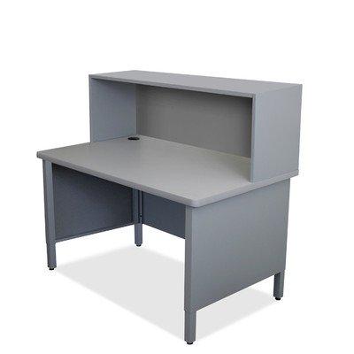 Mailroom Utility Table Finish: Slate Gray