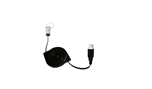 Gomadic USB Power Port Ready Retractable USB Charge USB Cable Wired specifically for The Kodak Easyshare V1253 and uses TipExchange