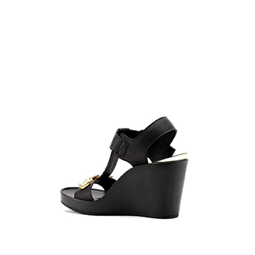 CAFèNOIR Sandal - Sandalias de vestir de material sintético para mujer Nero