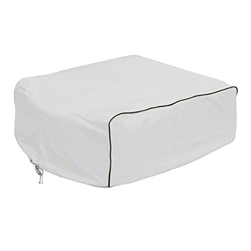 Classic Accessories 77420 RV AC Cover, White, For Duo-Therm, Briskair, Quick Cool