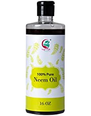 Neem oil 16 oz - Cold pressed, 100% Pure and Organic