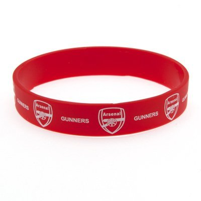 Arsenal Single Rubber Wristband by Official Football Merchandise